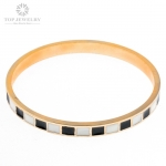 Fashion Popular Bangle Bracelet for Maybelline Alloy Material with Enamel OEM Available TBR-0026