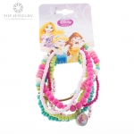 Disney Multi Strand Handmade Beaded Bracelets for Girls TNK-0012
