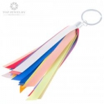 Ashion Ribbon Personalized Keychain for Promotional Gifts TKC-0010