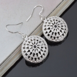Creative hollow disc Earrings