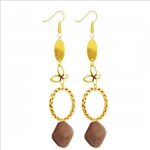 Metal Alloy Simple Characteristic Sweet Ball Earrings and Earrings